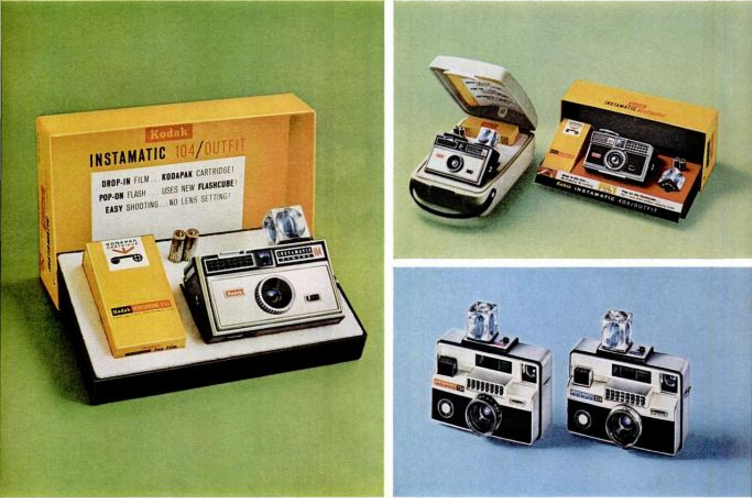 Image: Ad for Kodak Instamatic Camera. Life Magazine, Sept. 17, 1965, p.64.