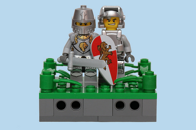 "Image: ""Knights in Shining Armor,"" Pascal, Flickr."
