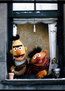 Ernie and Bert. 1969. IMDB Photo Gallery