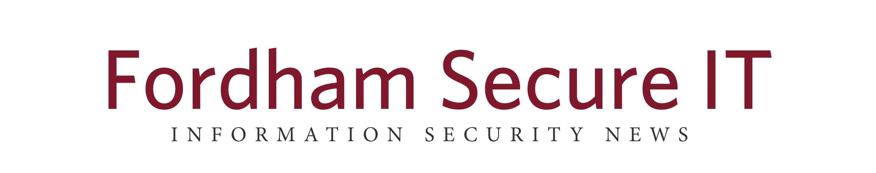 Fordham University Information Security Office
